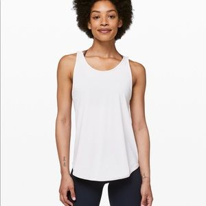 Lululemon Let it slip Tank Light Chrome Size 2